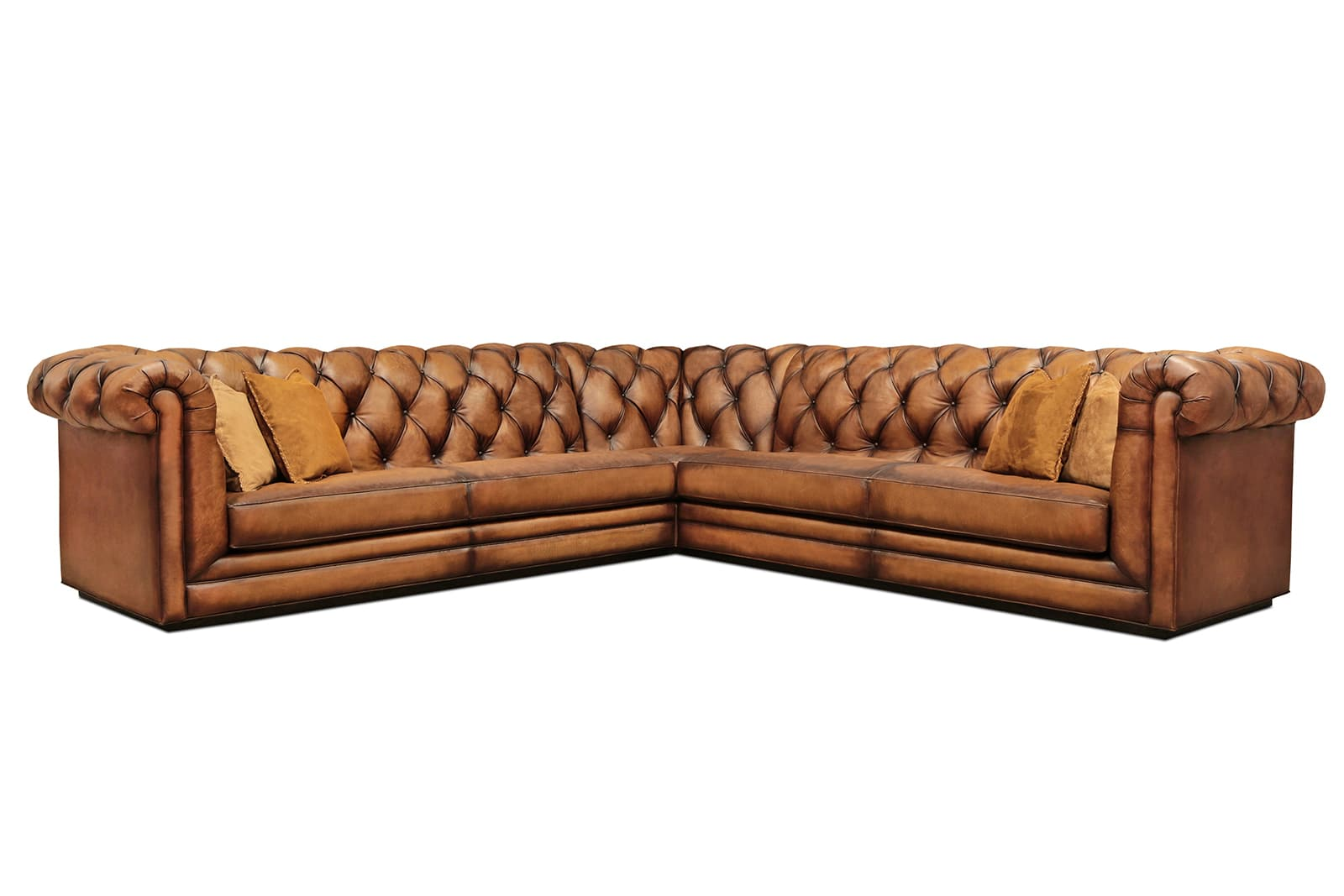 CHEYNE CHESTERFIELD 32 33 85 MAE CARTIER ANTIQUE CHESTNUT 4980 3