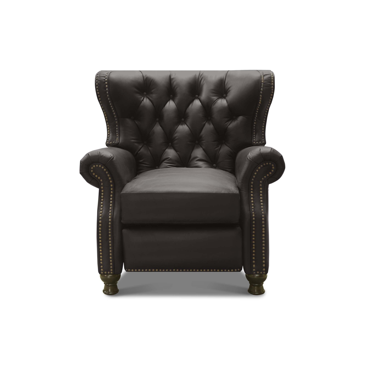 CHURCHILL - 19 High Leg Recliner Stonewood Coal