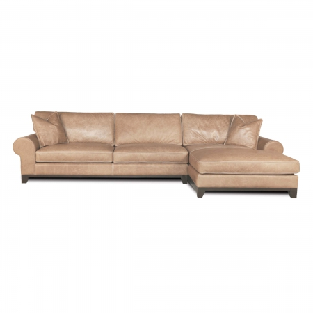 DESERT ROSE - 32 LAF Sofa 53 RAF Chaise Rodeo Ivory