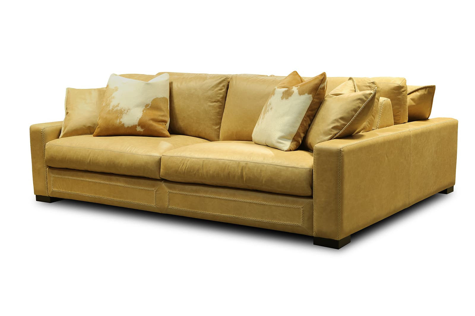 Downtown Cowboy 2 sided sofa 1