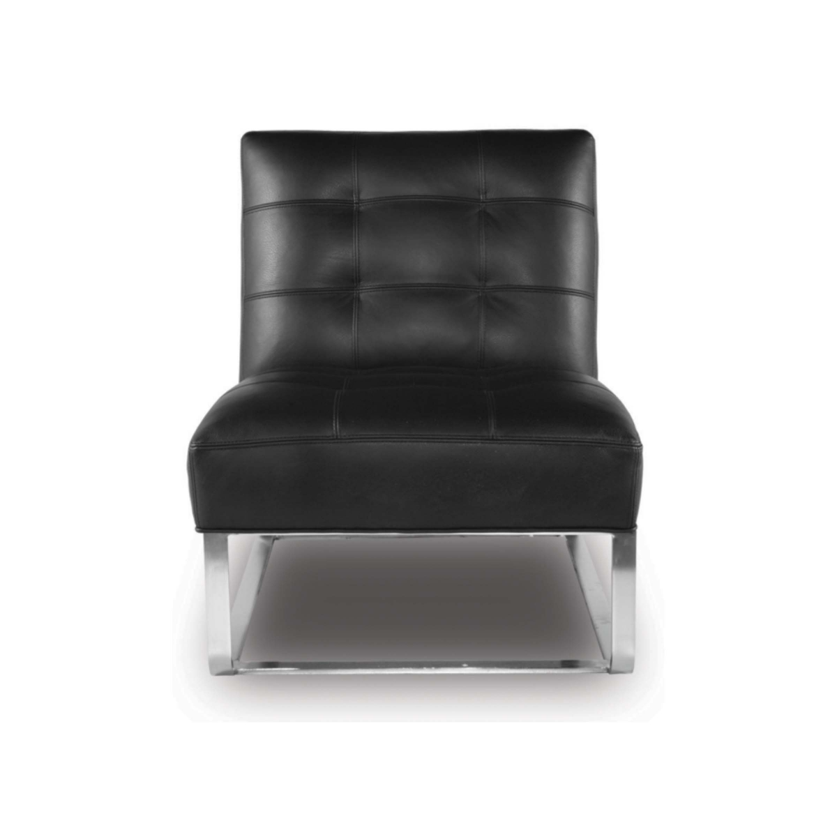 LOUNGE - 1E accent Chair LaRoyale Onyx