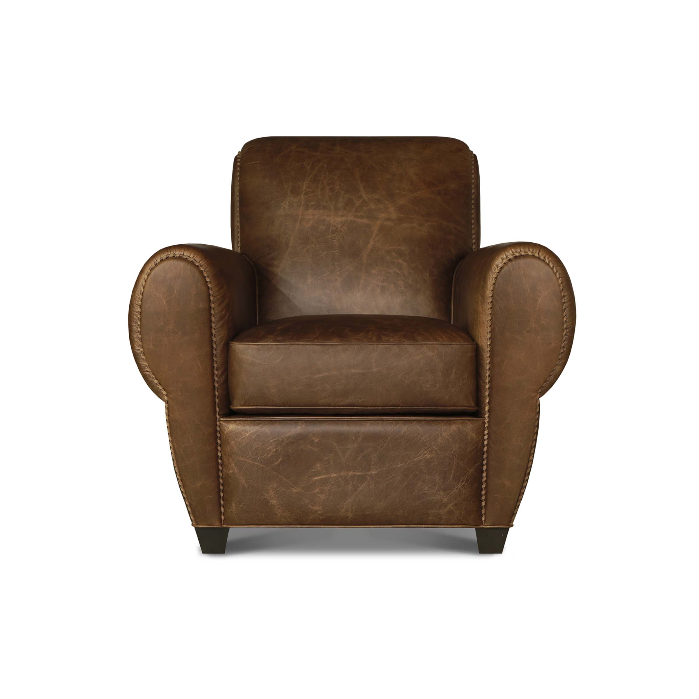 PARISIAN - 1E Accent Chair Sonewood Vintag