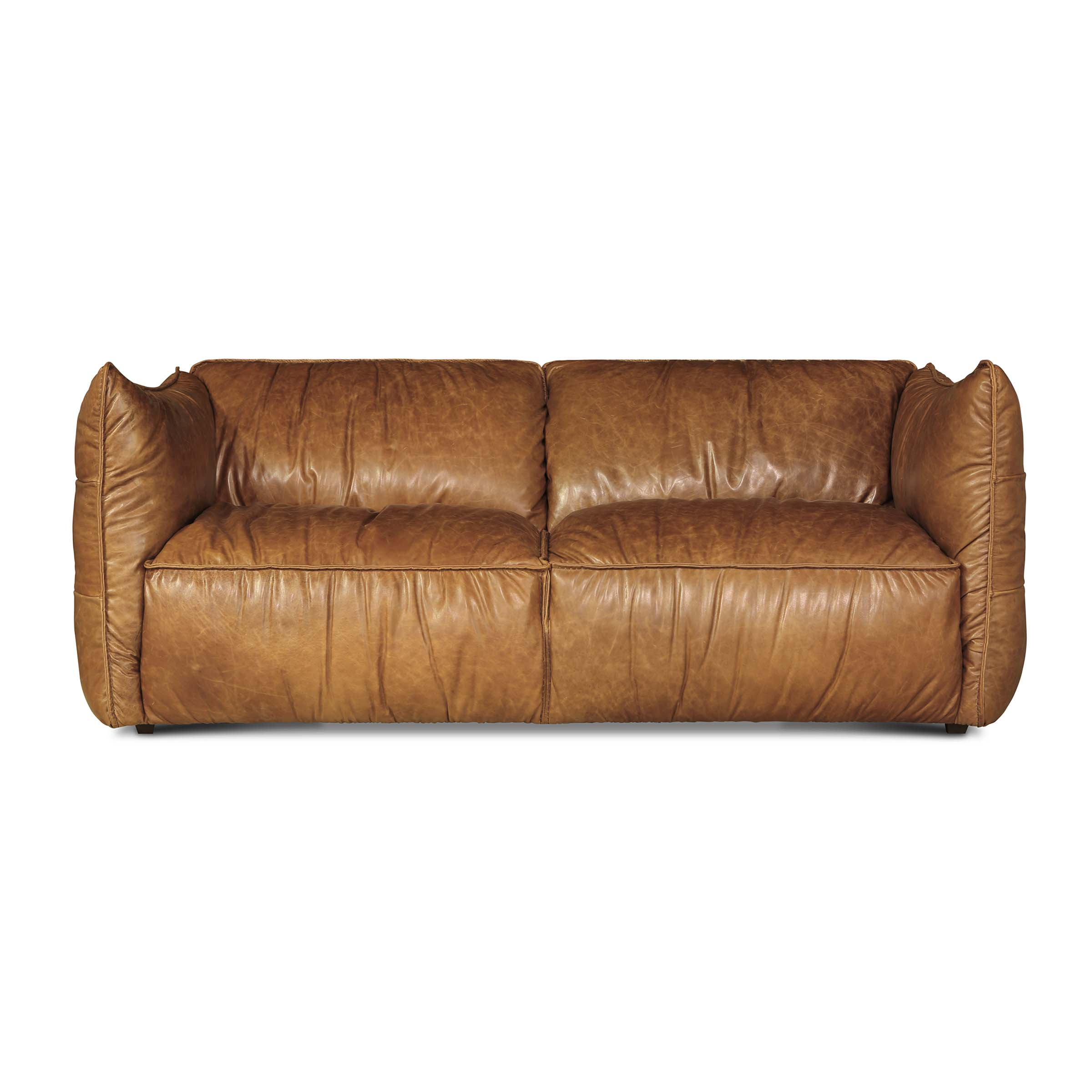 RODDY - 30 Sofa Equestrian Tan